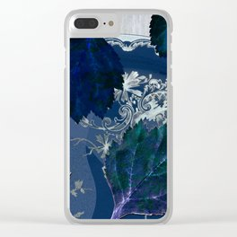 A blue symphony for Anna Clear iPhone Case