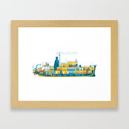 BELAFONTE - The Life Aquatic with Steve Zissou Framed Art Print