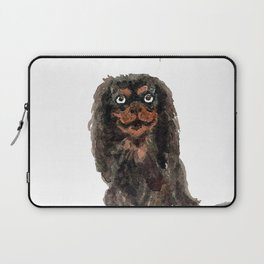 Toy Spaniel with balloons Laptop Sleeve