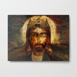 A Portrait of Christ Metal Print