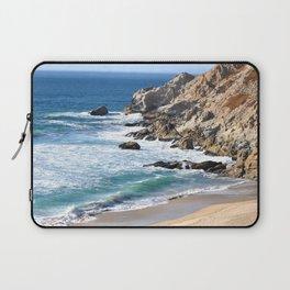 CALIFORNIA COAST - BLUE OCEAN Laptop Sleeve
