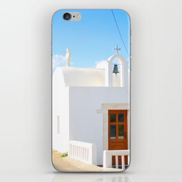 227. Church Ocean, Greece iPhone Skin