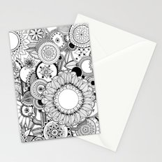 Floral Kaleidoscope  Stationery Cards
