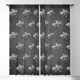 F35 Fighter Jet Airplane - F-35B Lighting II Joint Strike Fighter Cartoon Blackout Curtain