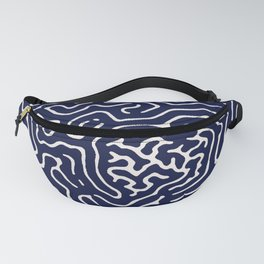 Homemade wiggly pattern Fanny Pack