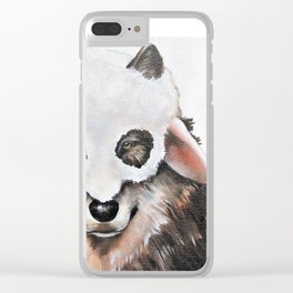 Wolf Fashionista Clear iPhone Case
