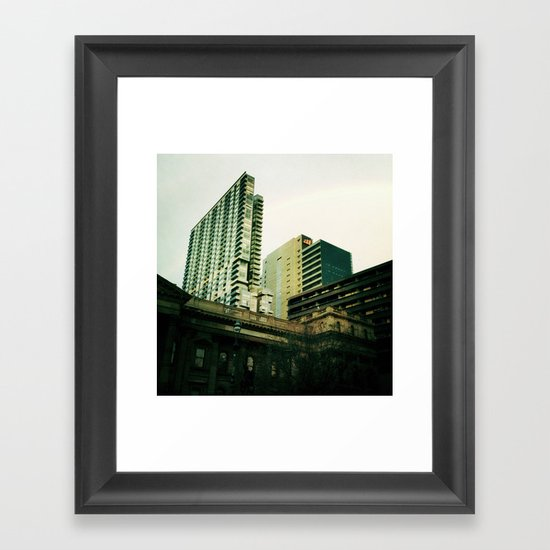 City Contrast Framed Art Print
