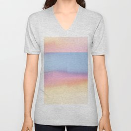 Pastel Horizon Unisex V-Neck