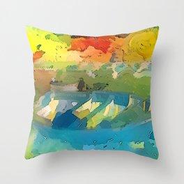 Barca Throw Pillow