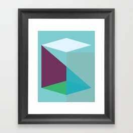 Cacho Shapes LXXVIII Framed Art Print