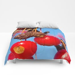 Red Berries Comforters
