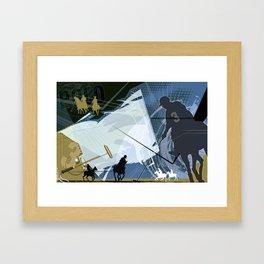Polo Framed Art Print