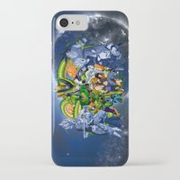 dbz iPhone & iPod Cases featuring DBZ - Cell Saga by Mr. Stonebanks