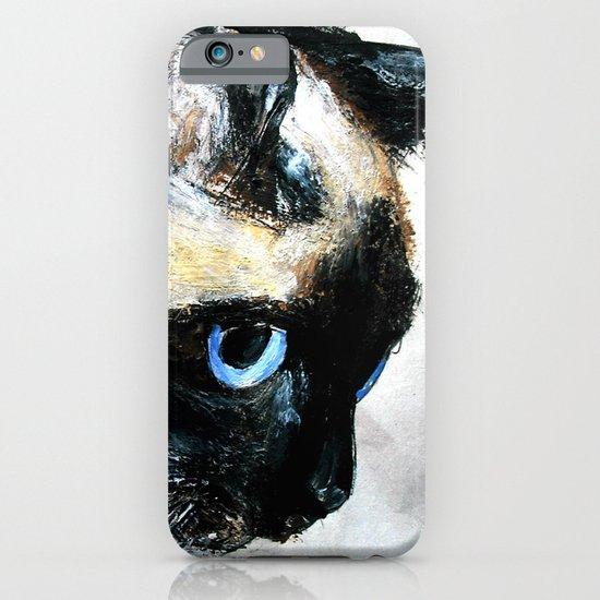 Siamese Cat iPhone & iPod Case