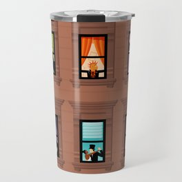 Brownstone Windows Travel Mug