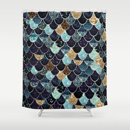 REALLY MERMAID - MYSTIC BLUE Shower Curtain