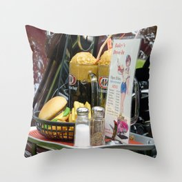 Fine Dining Throw Pillow