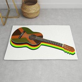 Reggae Guitar Rug