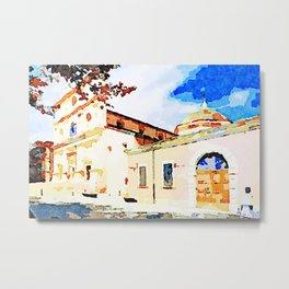 L'Aquila: church Metal Print