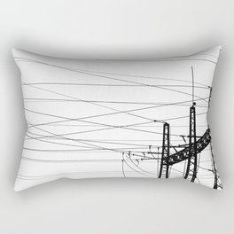 Electricity Plant Rectangular Pillow