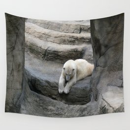 I Wonder if anyone is down There? Wall Tapestry