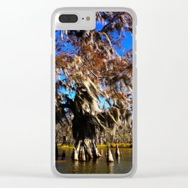 Cypress Tree - Lake Martin LA Clear iPhone Case