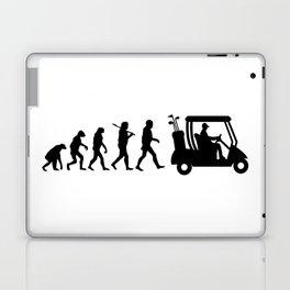 Evolution - golf  black&white Laptop & iPad Skin