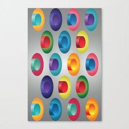 Industrial vibration Canvas Print