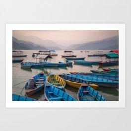Pokhara Art Print