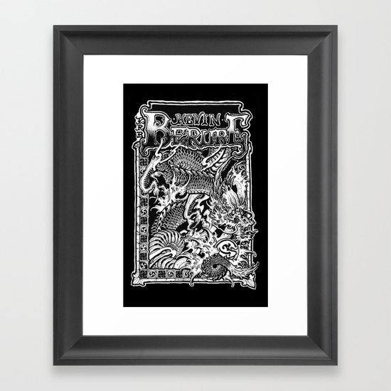 banner Framed Art Print