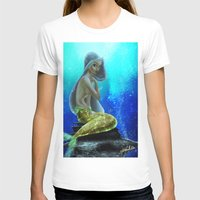vogue T-shirts featuring Underwater Vogue by Katie Halliday