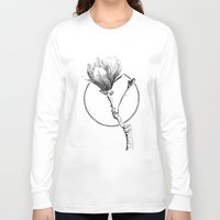 magnolia Long Sleeve T-shirts featuring Magnolia by Sunali Narshai