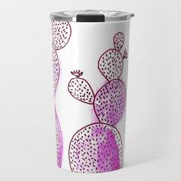 Cactus 42 pink Travel Mug