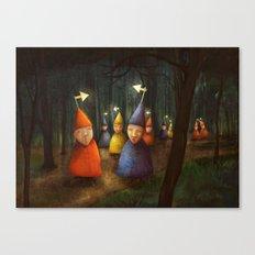 The Lost Brigade Canvas Print