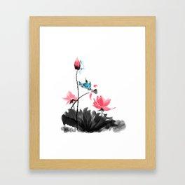 Shh... Framed Art Print