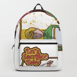 sacrifice toby  Backpack