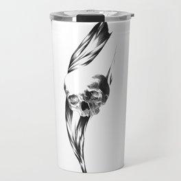 Skull Triptych  Travel Mug