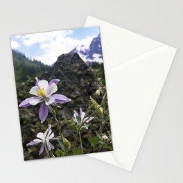 Colorado Columbine Stationery Cards
