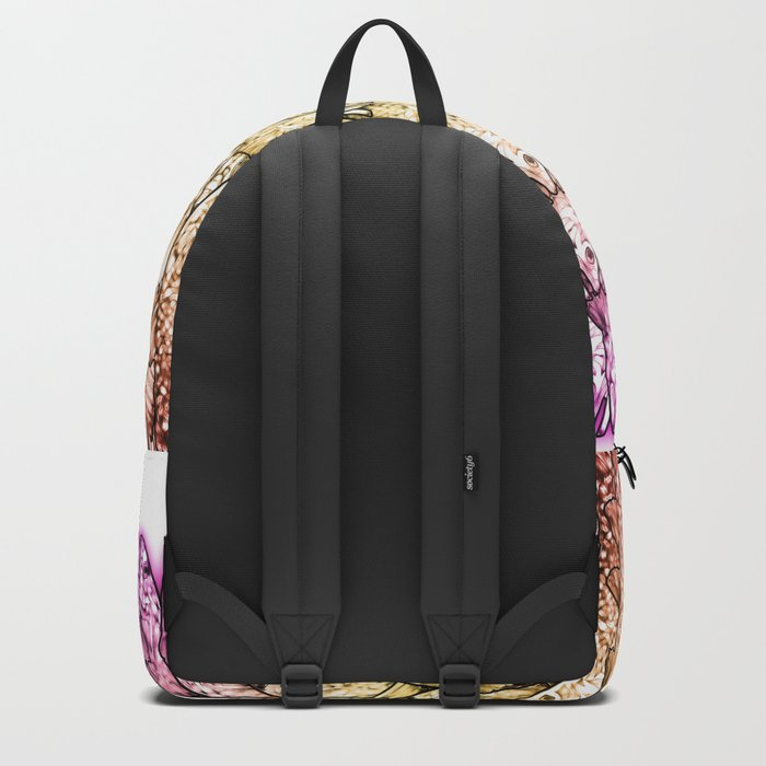 Crowd Fish Backpack