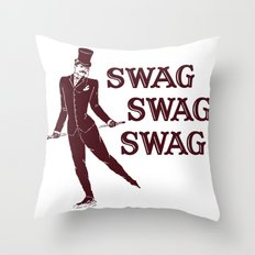 Swag Swag Swag Throw Pillow