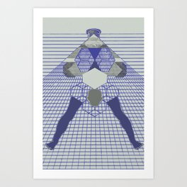 The Hanging Legs  Art Print