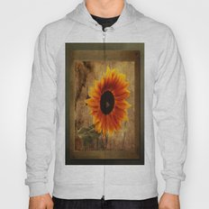 Vintage Sunflower Framed Hoody