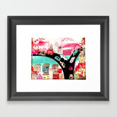 Welcome to Dallas Framed Art Print