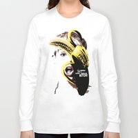 miley Long Sleeve T-shirts featuring Miley Cyrus  by franziskooo