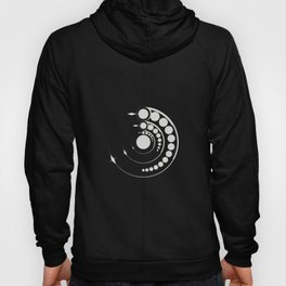 alien crop formation, sacred geometry Hoody