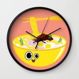 Ramen Mellow Wall Clock