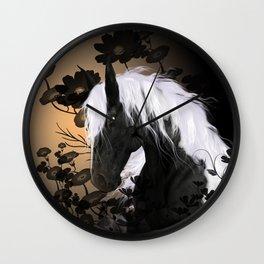 Wonderful horse Wall Clock