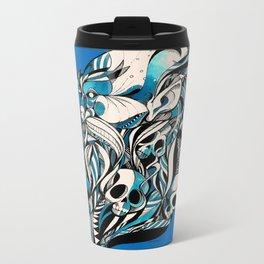 old-skull Metal Travel Mug