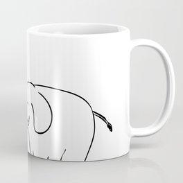 White Elephant Vote Drawing Coffee Mug