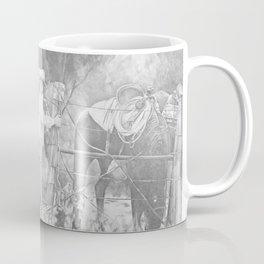 Fixing the Fence Coffee Mug